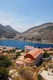 Kastellorizo-Megisti Greece. Beautiful and picturesque place, Kastelorizo Royalty Free Stock Photography