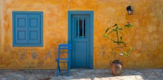 Kastellorizo coloré, Grèce Photos stock