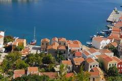 Kastellorizo-Megisti Greece. Kastelorizo beautiful and picturesque place Stock Image