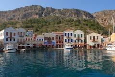 kastellorizo-Megisti Греция Стоковое Изображение