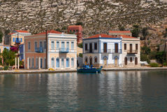 kastellorizo-Megisti Grecia Imagen de archivo libre de regalías