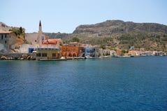 kastellorizo-Megisti Grecia Fotografía de archivo libre de regalías