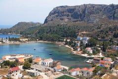 Kastellorizo-Megisti Grecia immagine stock libera da diritti