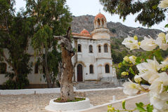 Kastellorizo-Megisti Greece. The church Constantine and Helena (built in 1835) is the cathedral of Kastellorizo Stock Image