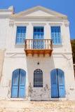 Kastellorizo-Megisti Greece. Home with local architecture kastellorizo Stock Image