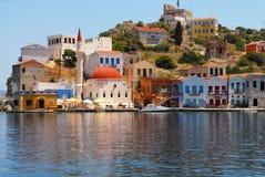 Kastellorizo-Megisti Griekenland stock afbeeldingen