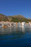 Kastellorizo-Megisti Greece. Kastellorizo or Megisti is the port, the capital and only settlement on the island Royalty Free Stock Image