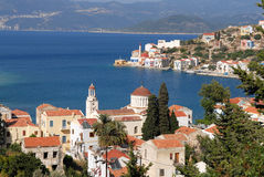 Kastellorizo-Megisti Greece. The most remote island of Greece, is the Turkish coast just 2 miles Stock Image