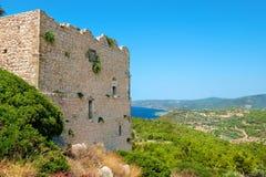 Kastelos 罗得岛,希腊 库存照片