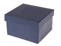 Kasten auf einem weißen Hintergrund Stockfotografie