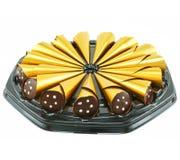 Kasten der Schokoladensüßigkeit Lizenzfreies Stockbild