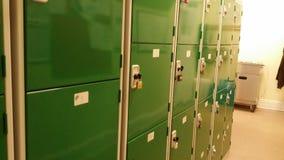 Kasten in een werkplaats Stock Afbeeldingen