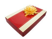 Kasten für ein Geschenk Stockbild