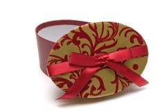 Kasten für Geschenk Stockfotografie