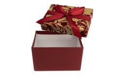 Kasten für Geschenk Lizenzfreie Stockbilder