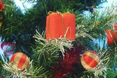 Kasten für Geschenke. Stockbild