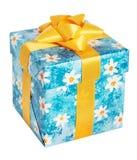 Kasten für Geschenke. Isometrisch. Lizenzfreies Stockbild