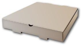 Kasten für Pizza. Stockbild