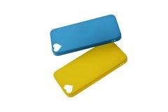 Kasten für Telefonabdeckung für Smartphone Stockbild