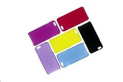 Kasten für Telefonabdeckung für Smartphone Stockbilder