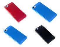 Kasten für Telefonabdeckung für Smartphone Lizenzfreie Stockfotos
