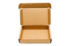 Kasten mit geöffnetem Deckel XXXL Stockfotografie