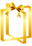 Kasten mit Geschenk Lizenzfreie Stockfotografie