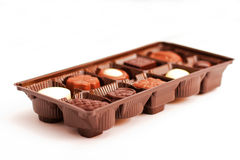 Kasten sortiertes chocolates2 Lizenzfreies Stockfoto