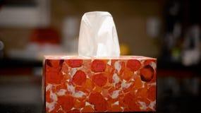 Kasten von Kleenex Stockfoto