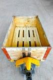 Kastenladeplatte Stockfoto