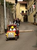 Kastenrennen, Azeglio Italien Lizenzfreie Stockbilder