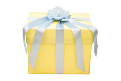 Kastenverpackung für ein Geschenk Stockfotografie