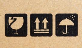 Kastenzeichen stockfotos