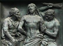Kastijding van Christus Stock Afbeelding