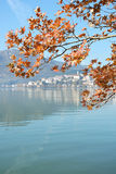 Kastoria in autumn Stock Photography