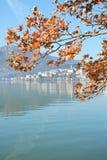 Kastoria in autunno Fotografia Stock