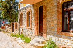 Architecture of Kastoria, West Macedonia, Greece. Stock Photography