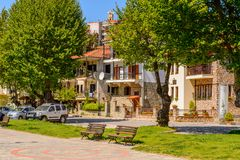 Architecture of Kastoria, West Macedonia, Greece. Stock Images