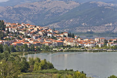 Kastoria traditional city at Greece Royalty Free Stock Photography