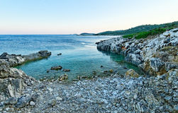 Kastos island beach Royalty Free Stock Image