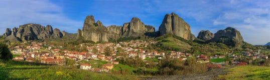 Kastraki village Royalty Free Stock Images