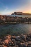 Kastri海岛, Kefalos, Kos海岛,希腊 图库摄影
