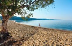 Kastri beach, Halkidiki, Greece. Stock Photography