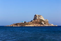 Kastri island Kos Royalty Free Stock Photo