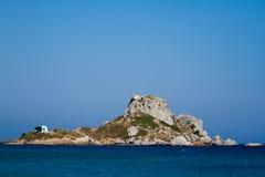 Kastril island, Kos, Greece. Royalty Free Stock Images