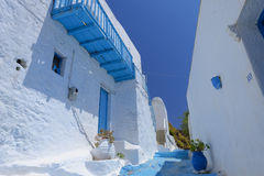 Kastro on Island of Milos Royalty Free Stock Photo