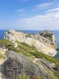 Kastro, Skiathos, Greece royalty free stock photos