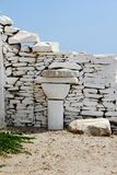 Kastro tradycyjna wioska, Sifnos wyspa, Grecja fotografia royalty free