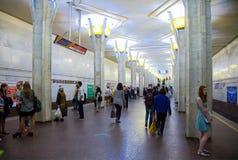 Kastrycnickaja metro station Stock Photography