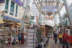 Kasturi步行在吉隆坡,马来西亚 免版税库存图片